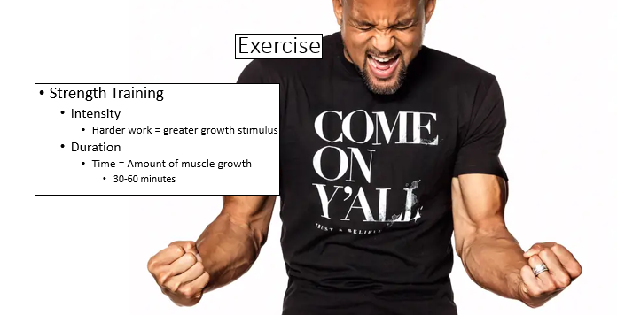 intensity = muscle growth